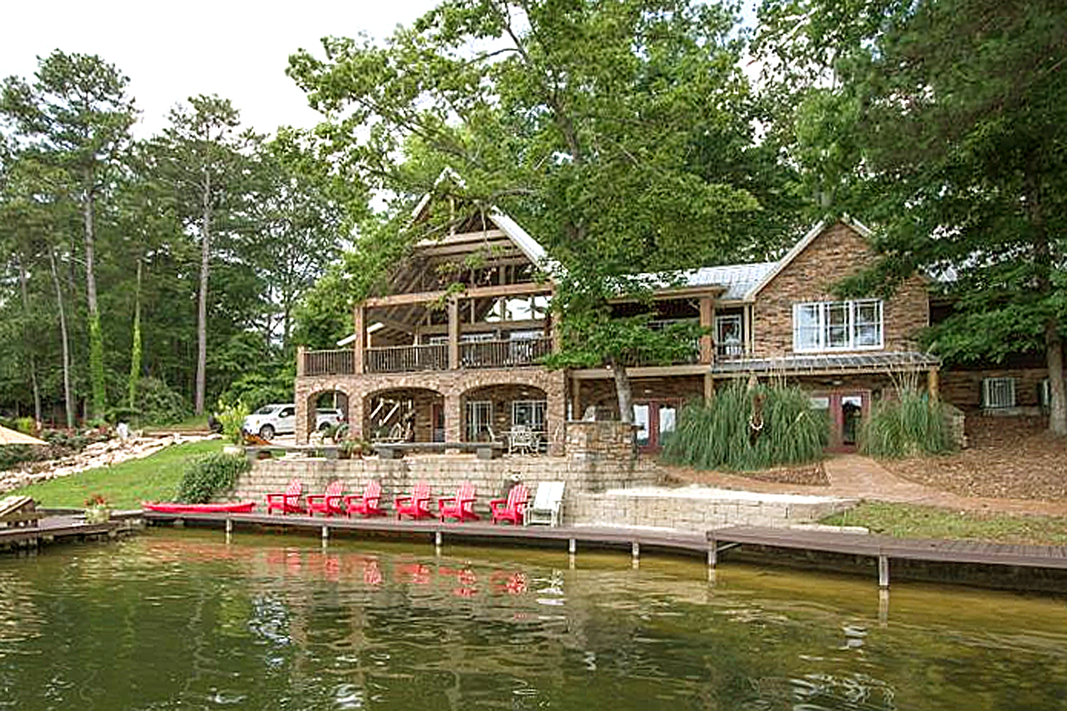 Lake Martin Al Waterfront Homes For Sale 15872 Paces Point