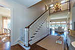 Beautiful starcase to upper level at 2526 Gunster Drive in Lockwood, Montgomery, AL. Professional photos and tour by Go2REasssistant.com
